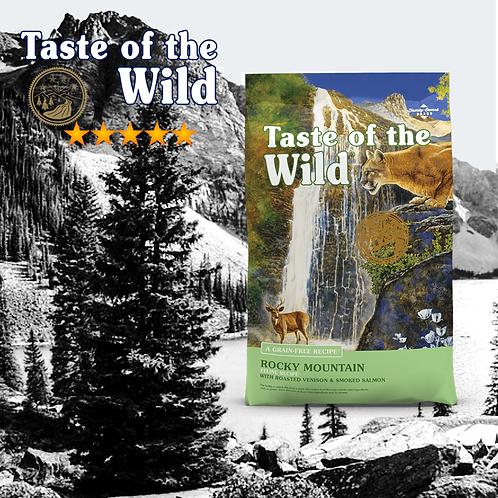 Taste of the Wild Rocky Mountain Feline Formula ( 2 Sizes Available )
