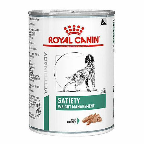 Royal Canin Wet Food - Canine Satiety Weight Management (cans)