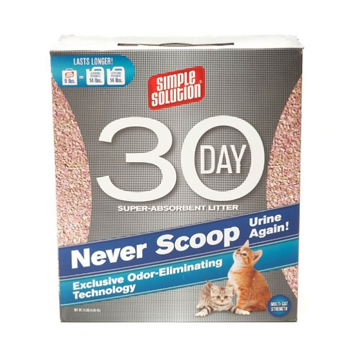 Simple Solution 30 Day Cat Litter 4kg