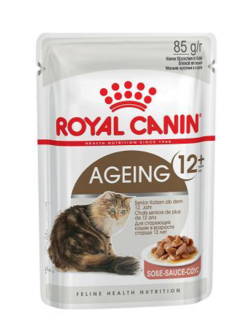 Royal Canin Wet Food - Ageing +12 Years (pouches)