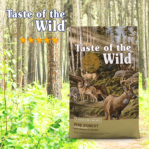Taste of the Wild Pine Forest Canine ( 2 Sizes Available )