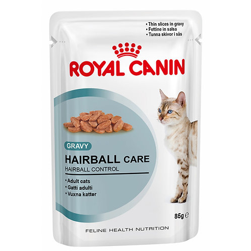 Royal Canin Wet Food - HAIRBALL CARE (POUCHES)