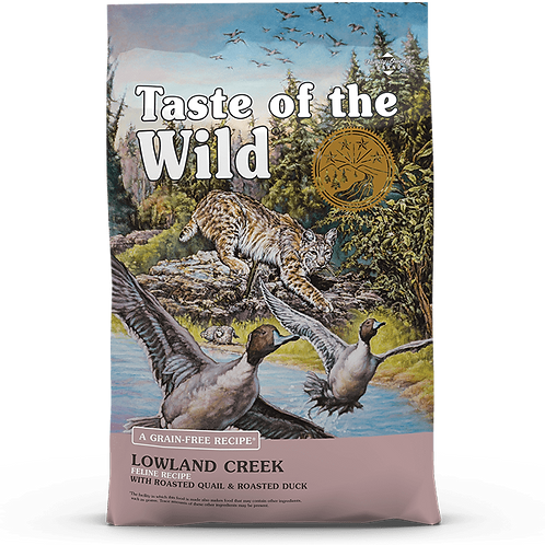 Taste of the wild -Low Land Creek Feline Recipe
