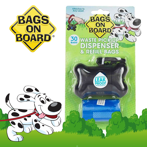 BOB Dispenser Bone (30bags)