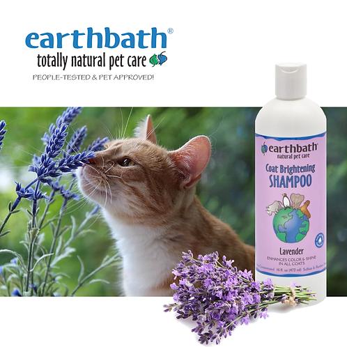 EARTHBATH - Light Color Coat Brightener Shampoo with Lavender Scent 16oz