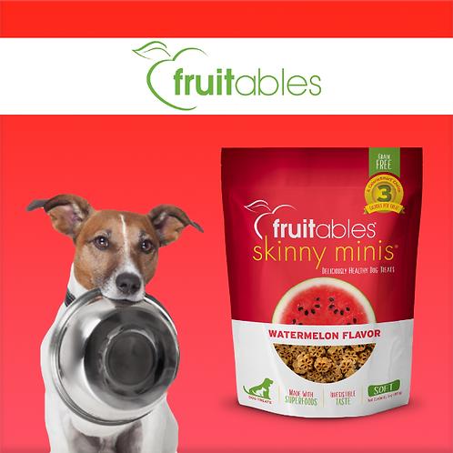 Fruitables Skinny Minis Dog Treats Watermelon 141g