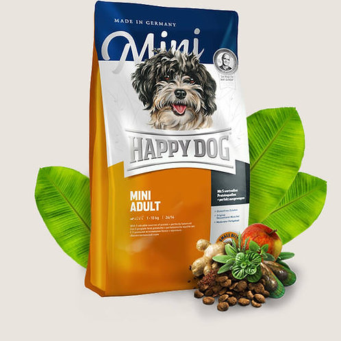 Happy Dog F & Well Adult Mini 1kg