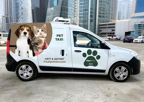 Equitrans Pet Travel Van