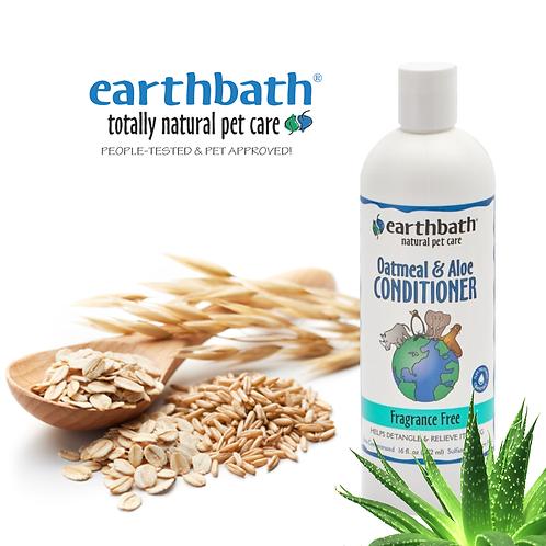 EARTHBATH Oatmeal & Aloe Conditioner Fragrance Free 16oz