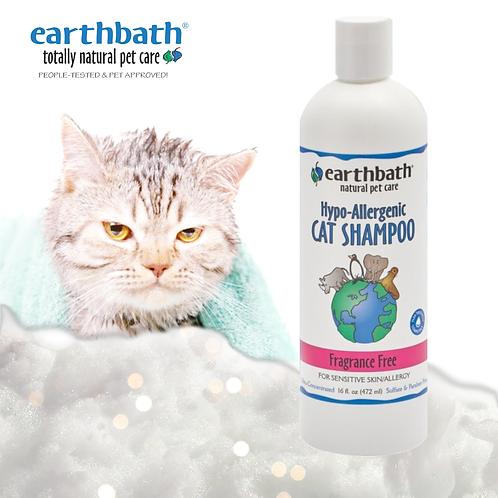 EARTHBATH Hypoallergenic Cat Shampoo Fragrance Free 16oz