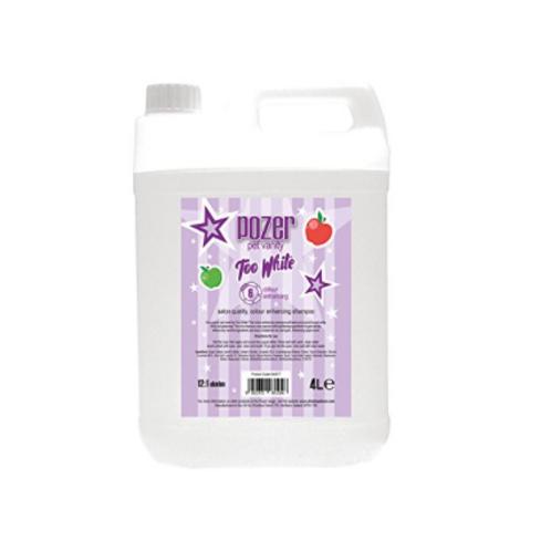 Pozer Too White Shampoo 4 Liter