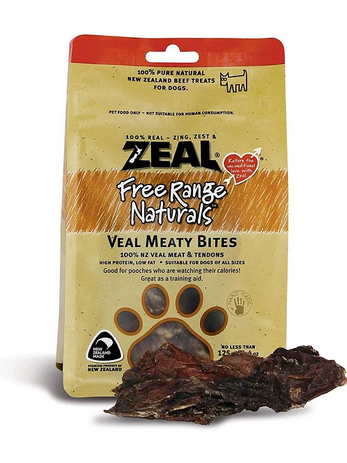 Zeal Beef Hooves 125gr