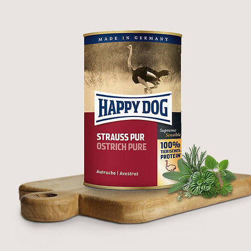 Happy Dog Ostrich Pure 400g