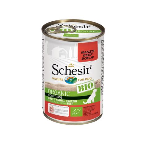 Schesir Bio Dog Can - 400g Adult Beef