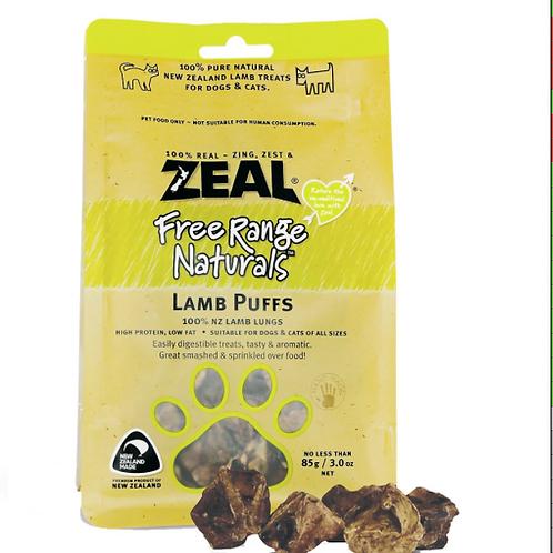 Zeal Lamb Puffs 85grams