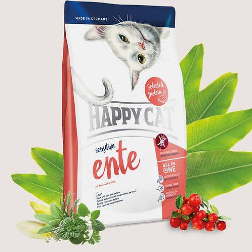 Happy Cat - Sensitive Ente Duck - 1.4kg