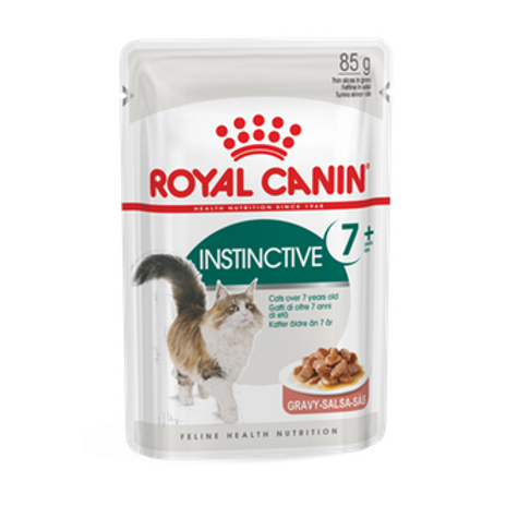 Royal Canin Wet Food - Instinctive +7 Years (pouches) per pouch