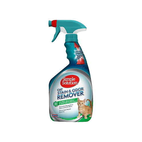 Simple Solution Extreme Cat Stain & Odour Remover (32oz spray)
