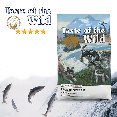 Taste of the Wild Pacific Stream Puppy ( 2 Sizes Available )