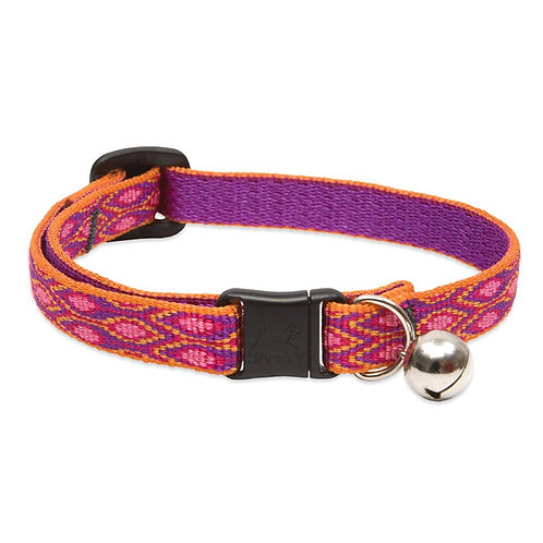 Lupine Cat Collar 1/2 Pattern Colours with Bell