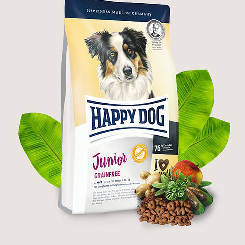 Happy Dog Junior Grain-free 1kg & 10kg