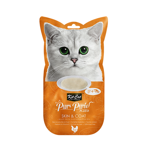 Kit Cat Puree Plus Collagen Care - 2 Flavours