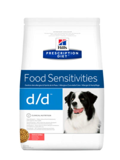 PD Canine d/d Salmon & Rice 5kg & 12kg Bags