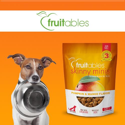 Fruitables Skinny Minis Dog Treats Pumpkin & Mango 141g