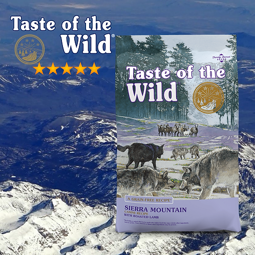Taste of the Wild Sierra Mountain Canine Formula ( 2 Sizes Available )