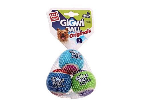 GIGwi Small - size tennis ball originals 3 pcs