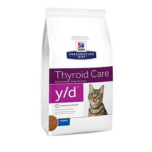 Hills y/d Thyroid Care