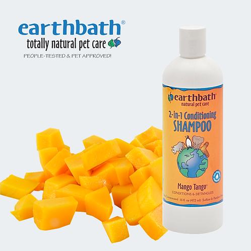 EARTHBATH- Mango Tango Conditioning Shampoo Mango Scent 16oz