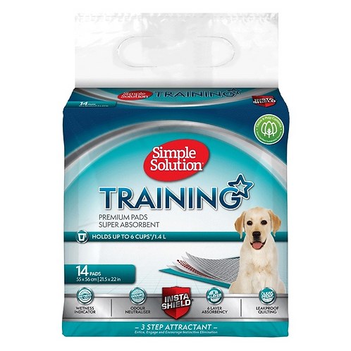 Simple Solution Puppy Training Pads - Packs of 14,30,50 & 56