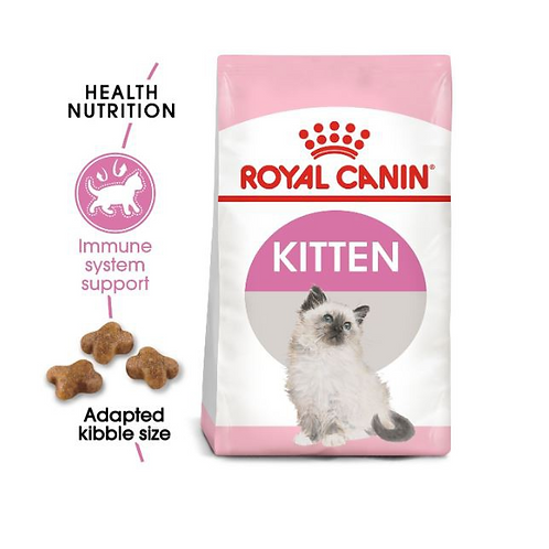Royal Canin - Feline Health Nutrition Kitten 400g, 2kg & 4kg Bags