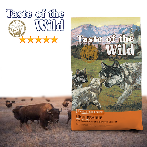 Taste of the Wild High Prairie Puppy ( 2 Sizes Available)