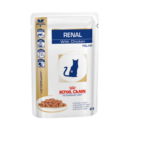 Royal Canin Wet Food - Renal Diet ( 2 Flavours )