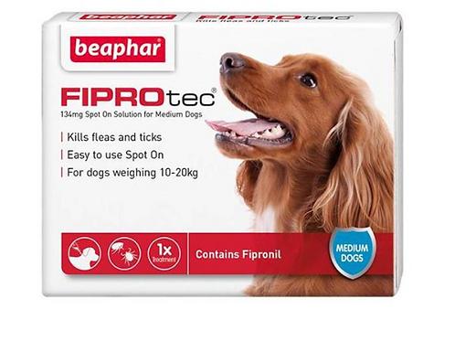 Fiprotec for Medium Dog 134mg 10-20kg Fipronil