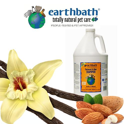 EARTHBATH Oatmeal & Aloe Shampoo Vanilla & Almond Gallon 3.8