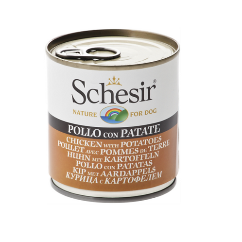 Schesir Dog Can - Chicken & Potatoes 285 grams