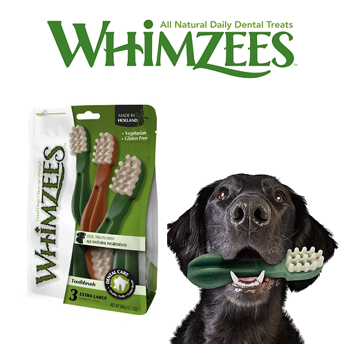 Whimzees - Tooth Brush Star Mix XL 1 pcs & 3 pcs pack