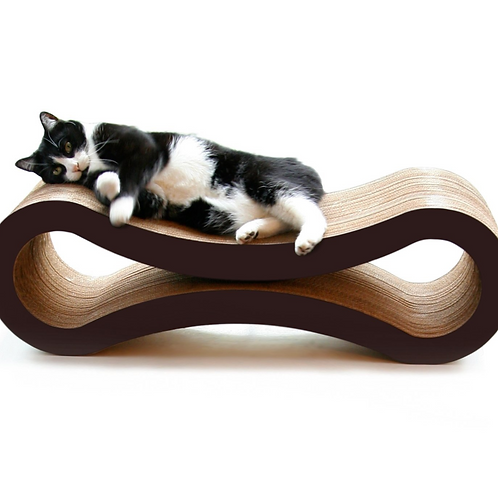 Pet Fusion Cat Scratcher Lounge - Deluxe