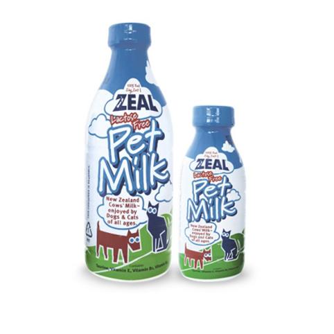 Zeal Pet Milk  380ML & 1L Bottles