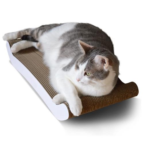 Pet Fusion Reversible Curve Scratcher