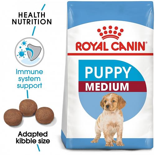 Royal Canin - Size Health Nutrition Medium Puppy ( 1kg & 4kg Bags )