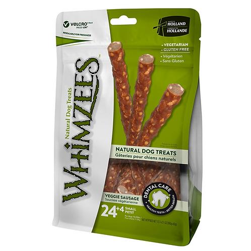 Whimzees Veggie Sausage S 24 + 4 pcs