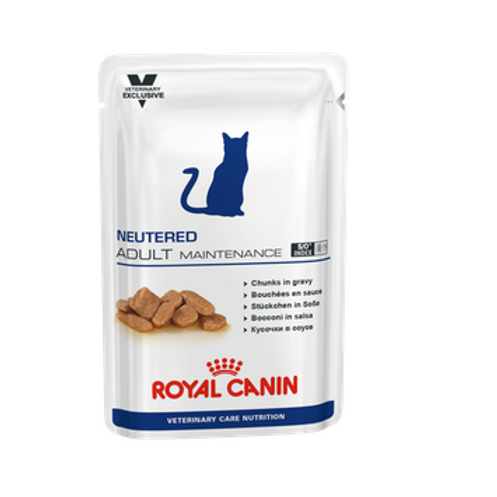 Royal Canin Wet Food - Neutered Adult Maintenance Feline (pouches)