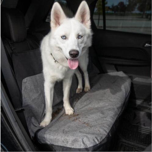 Bergan Mid/LG Bench Seat Protector Gray/Tan