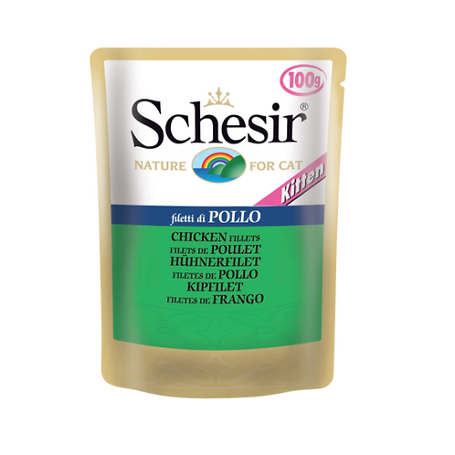 Schesir Kitten Pouch Chicken Fillet 100 grams
