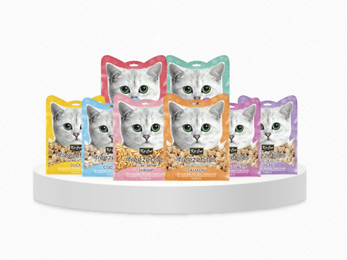 Kitcat Freeze Dried Treat in 8 Scrumptious Flavours