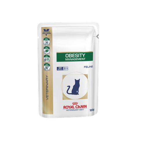 Royal Canin Wet Food - Obesity Diet (pouches)
